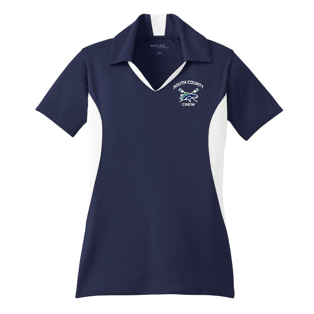 South County Crew Embroidered Performance Ladies Polo