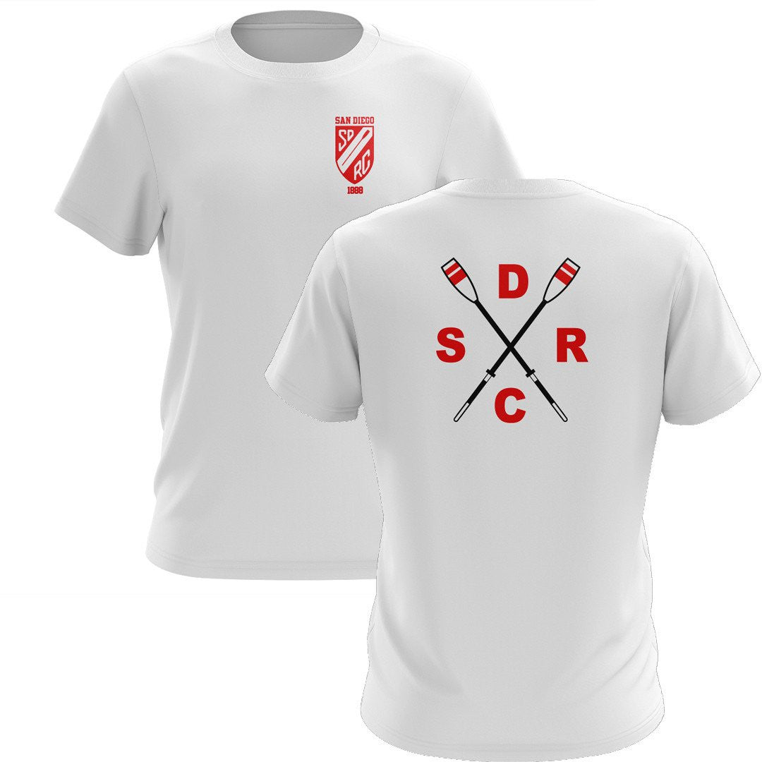 San Diego Rowing Club Juniors Men's Drytex Performance T-Shirt