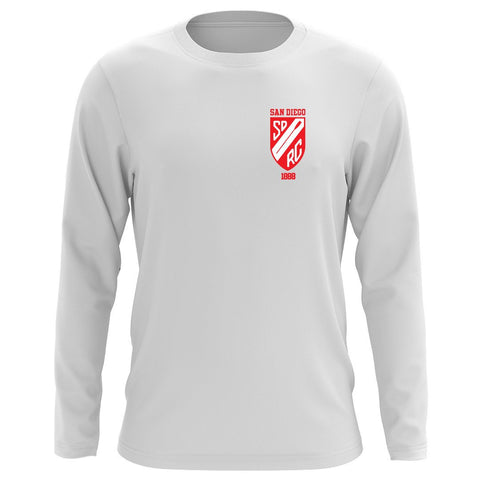 Custom San Diego Rowing Club Juniors Long Sleeve Cotton T-Shirt