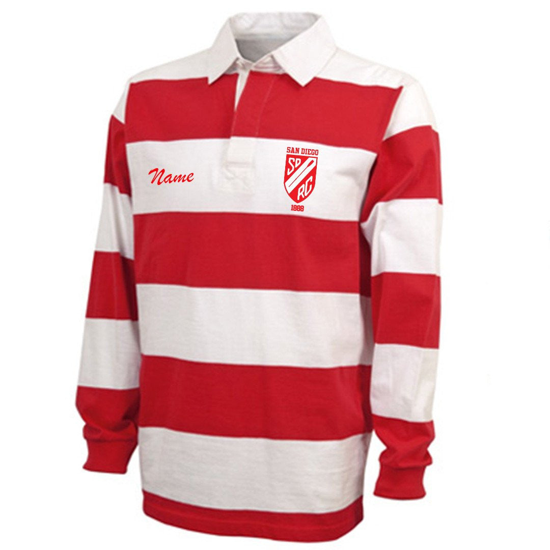 San Diego Rowing Club Juniors Uniform Rugby Shirt