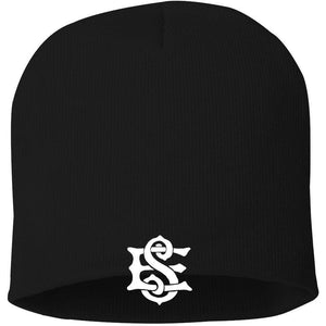 Straight Knit South End Beanie