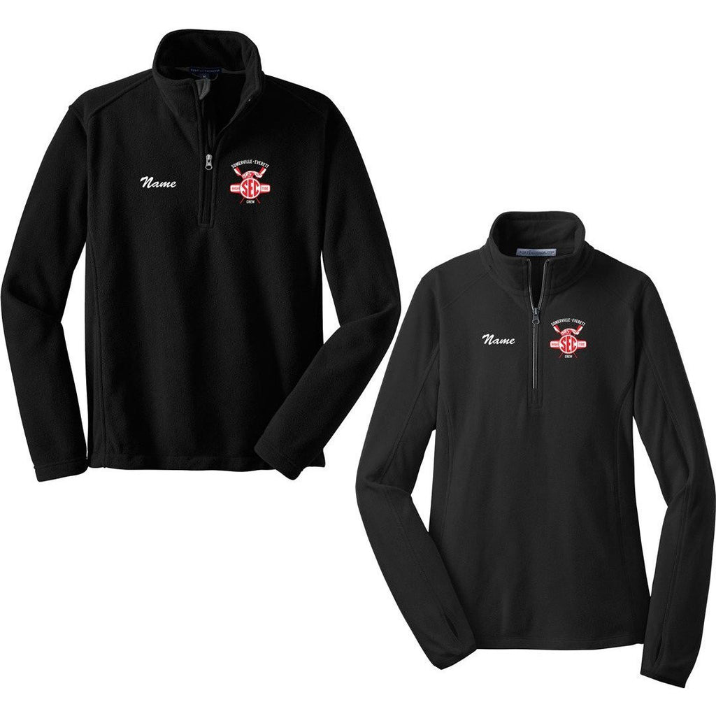 1/4 Zip Somerville-Everett High Tide Crew Fleece Pullover