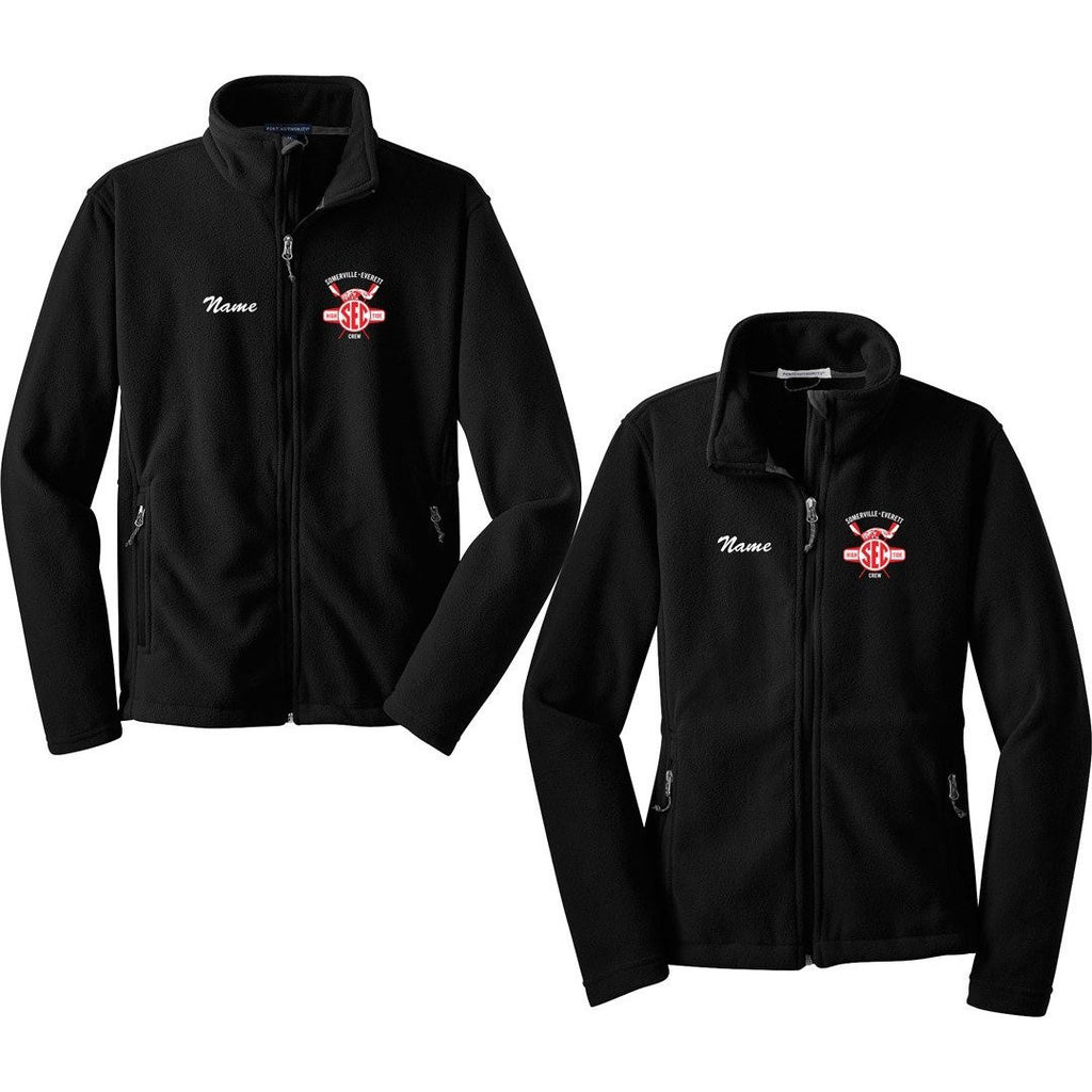 Full Zip Somerville-Everett High Tide Crew Fleece Pullover