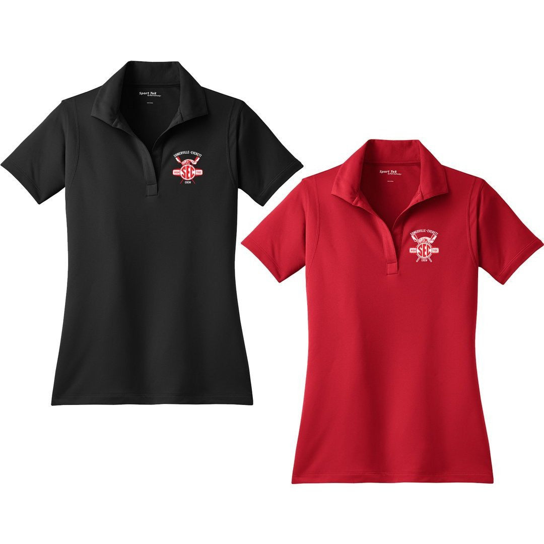 Somerville-Everett High Tide Crew Embroidered Performance Ladies Polo