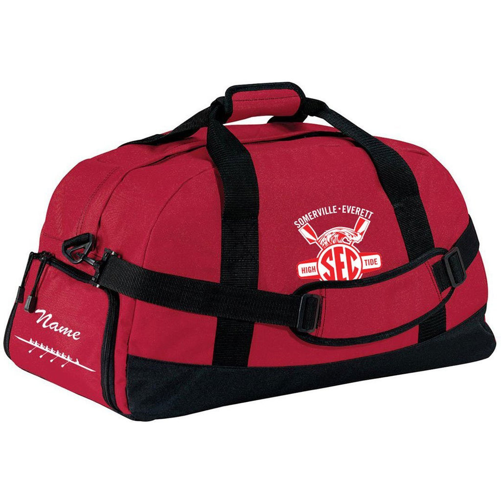 Somerville-Everett High Tide Crew Team Race Day Duffel Bag