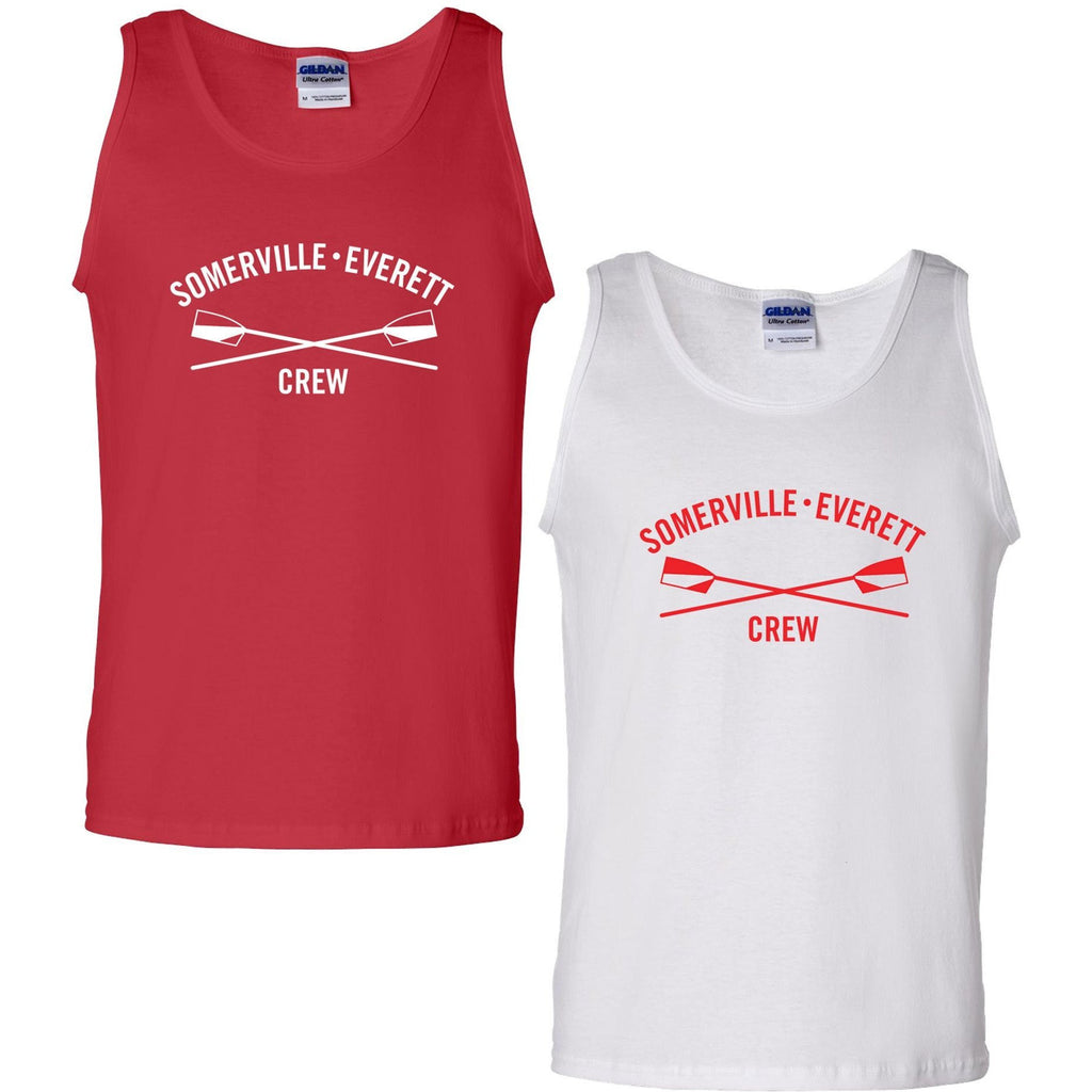 100% Cotton Somerville-Everett High Tide Crew Tank Top