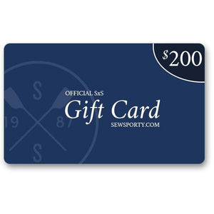 SewSporty $200 Gift Card Give-Away Registration (Crewfessions)
