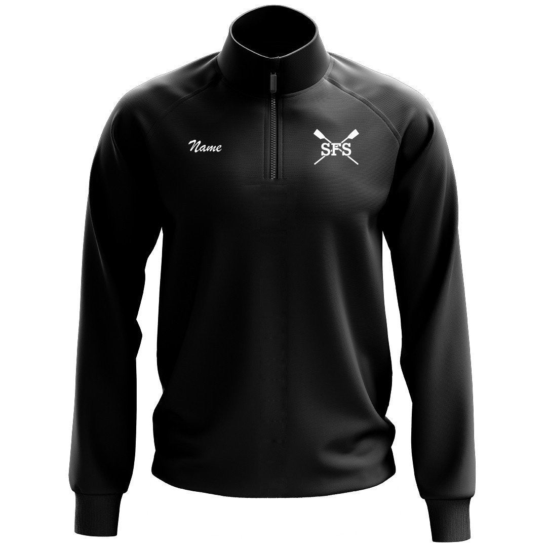 Sidwell Friends Rowing Mens Performance Pullover