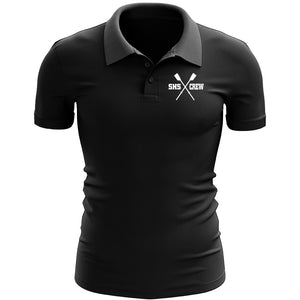 Stonington Crew Embroidered Performance Men's Polo