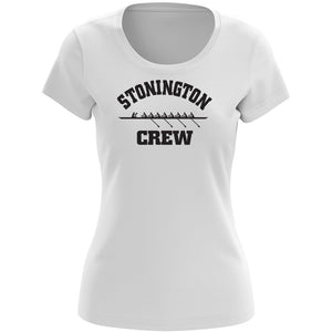 100% Cotton Stonington Crew Women's Team Spirit T-Shirt