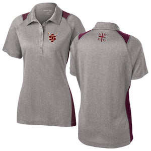 Ignatius Chicago Crew Embroidered Performance Ladies Polo