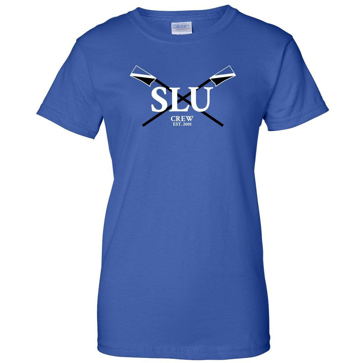 100% Cotton SLU Crew Women's Team Spirit T-Shirt
