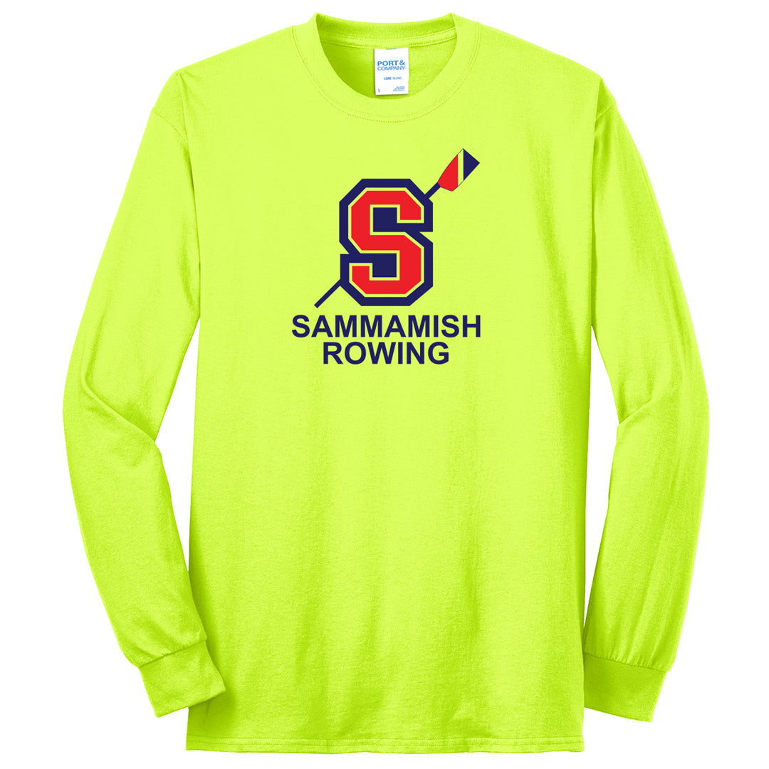 Sammamish Rowing Long Sleeve 50/50 Cotton/Poly T-Shirt