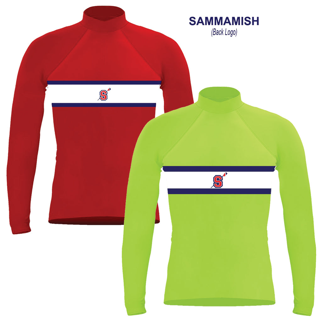 Long Sleeve Sammamish Rowing Warm-Up Shirt