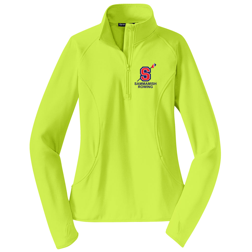 Sammamish Rowing Ladies Performance Pullover w/ Thumbhole