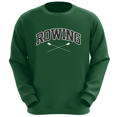 Row Crewneck Sweatshirt (Forest)