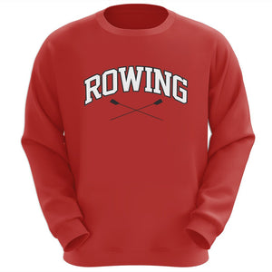 Rowing Crewneck Sweatshirt (Red)