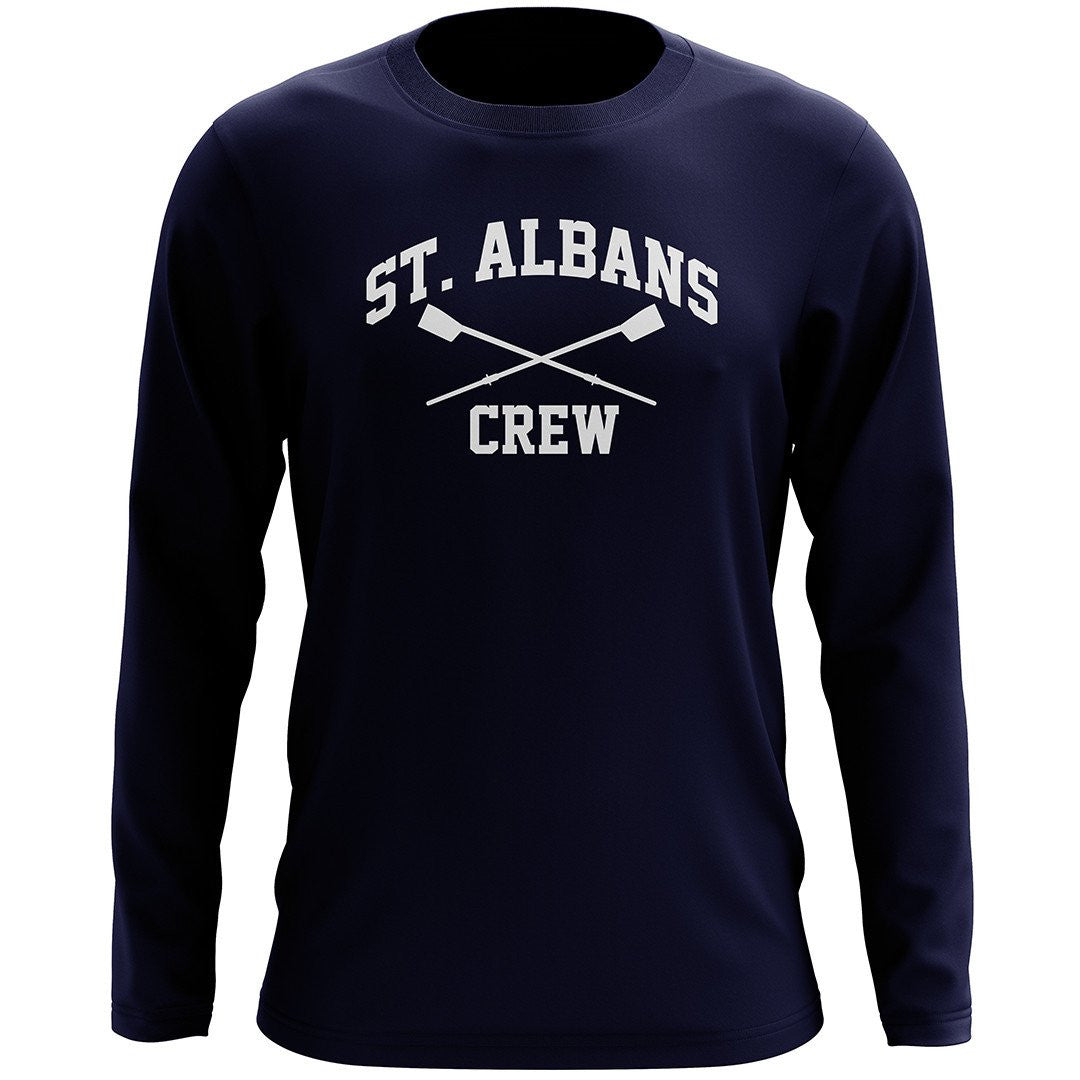 STA Crew Long Sleeve Shirt NAVY