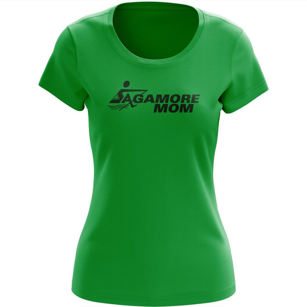 100% Cotton Sagamore Mom Team Spirit T-Shirt