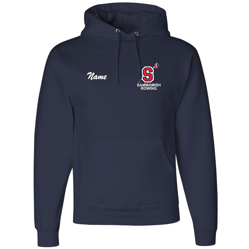 50/50 Hooded Sammamish Rowing Pullover Sweatshirt