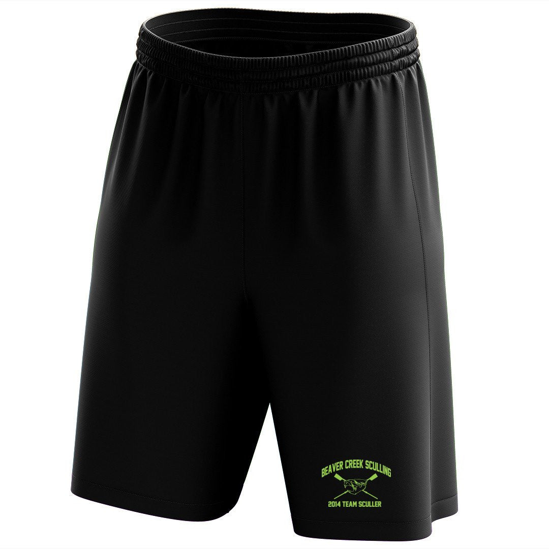 Custom Beaver Creek Sculling Mesh Shorts