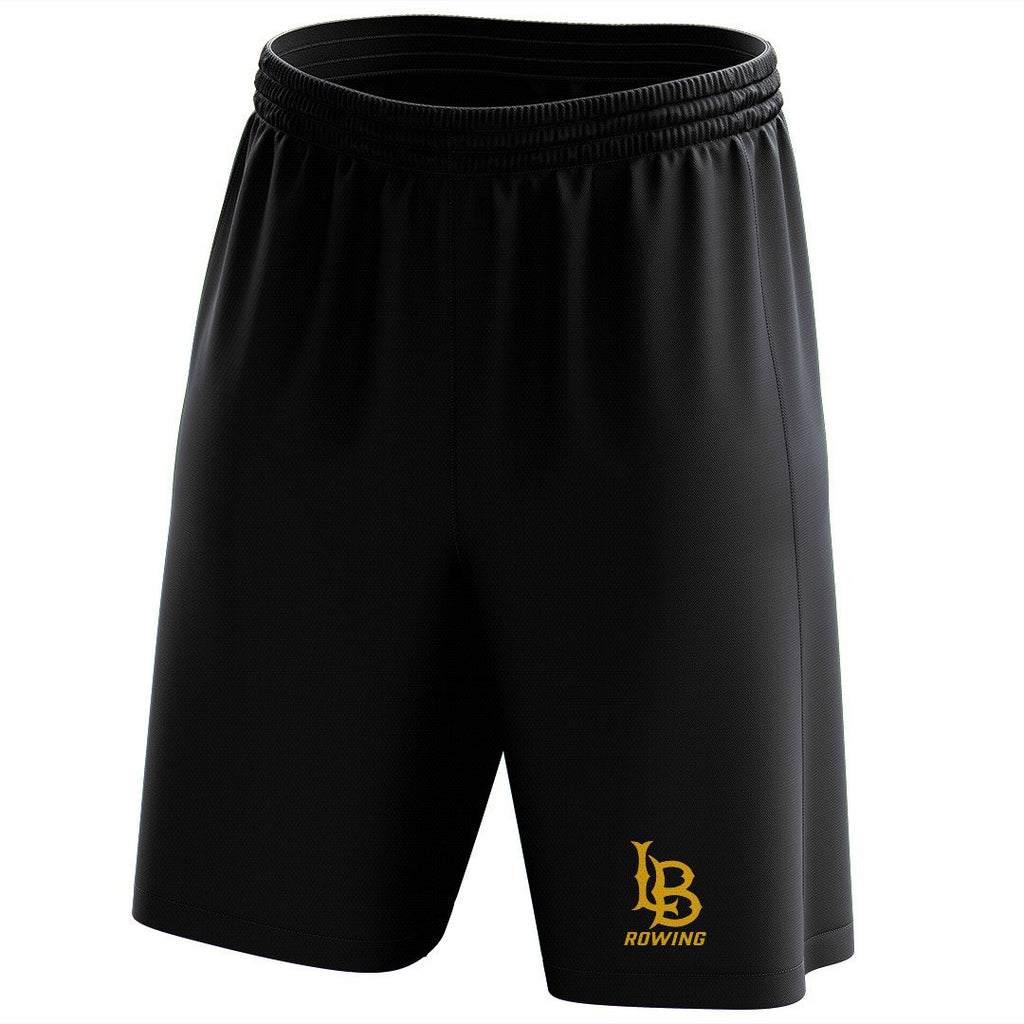 Custom Long Beach Rowing Mesh Shorts