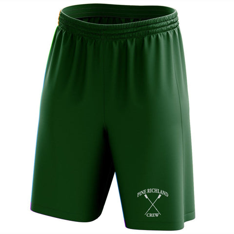 Custom Pine Richland Crew Mesh Shorts