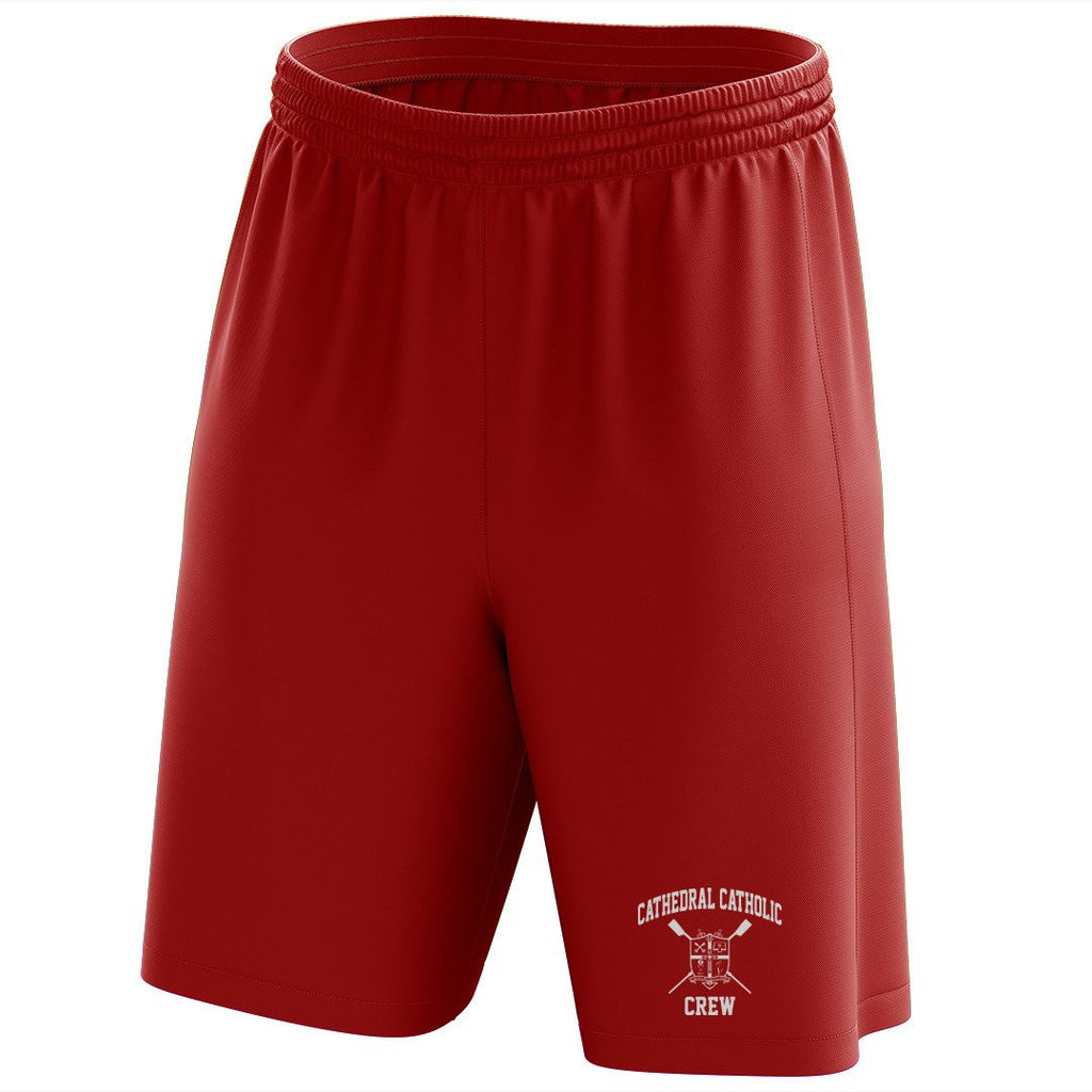 Custom Cathedral Catholic Crew Mesh Shorts