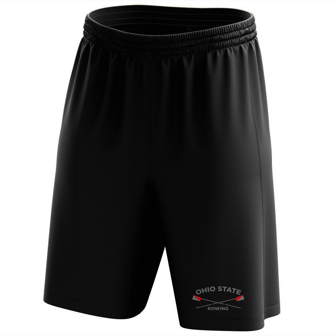 Custom Ohio State Rowing Mesh Shorts