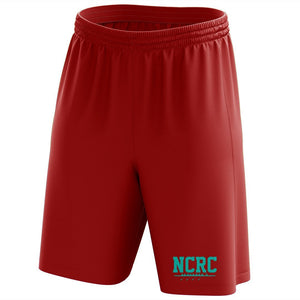 Custom North Carolina Rowing Center Mesh Shorts