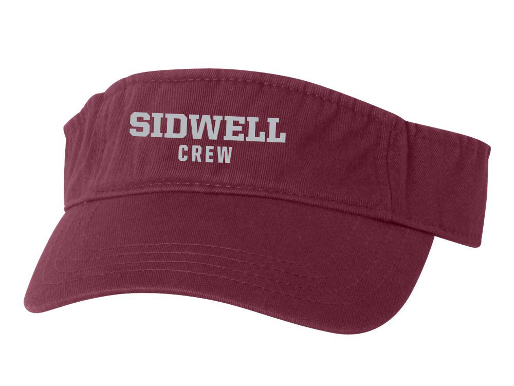 Sidwell Friends Rowing Cotton Twill Visor
