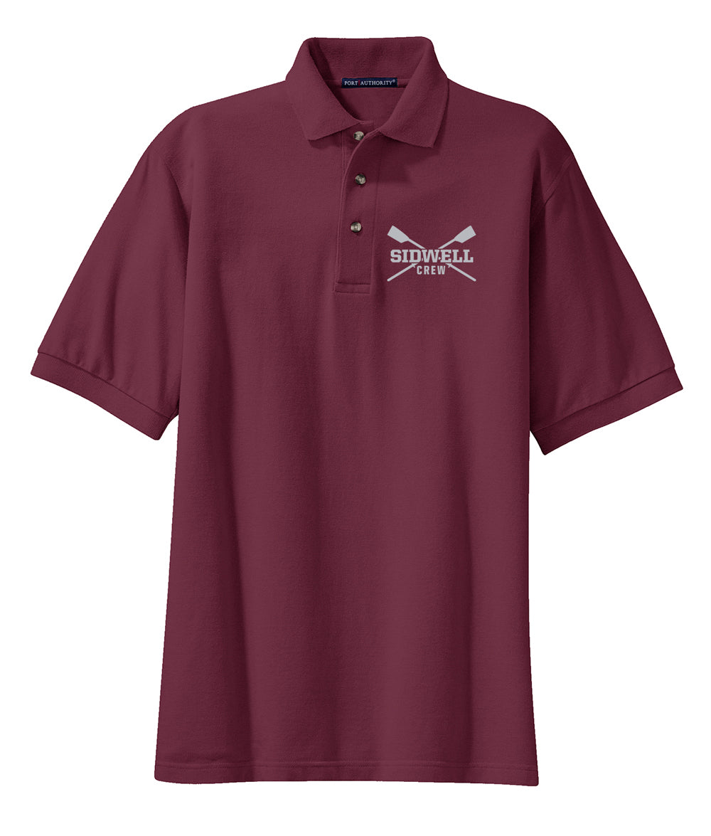 Sidwell Friends Rowing Men's Cotton Polo