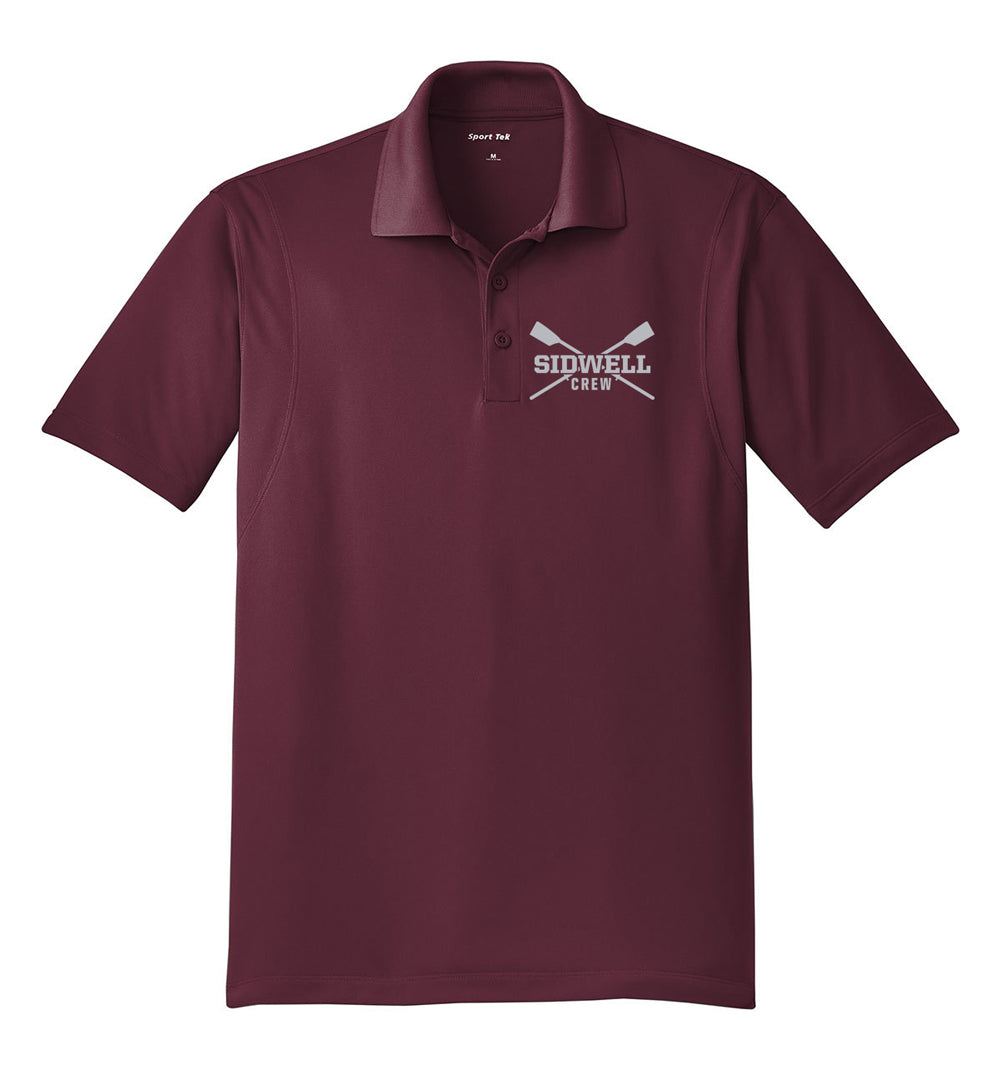 Sidwell Friends Rowing Embroidered Performance Men's Polo