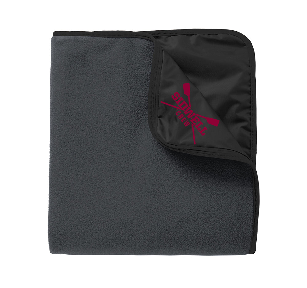 Sidwell Friends Rowing Nylon/Fleece Travel Blanket