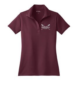 Sidwell Friends Rowing Embroidered Performance Ladies Polo