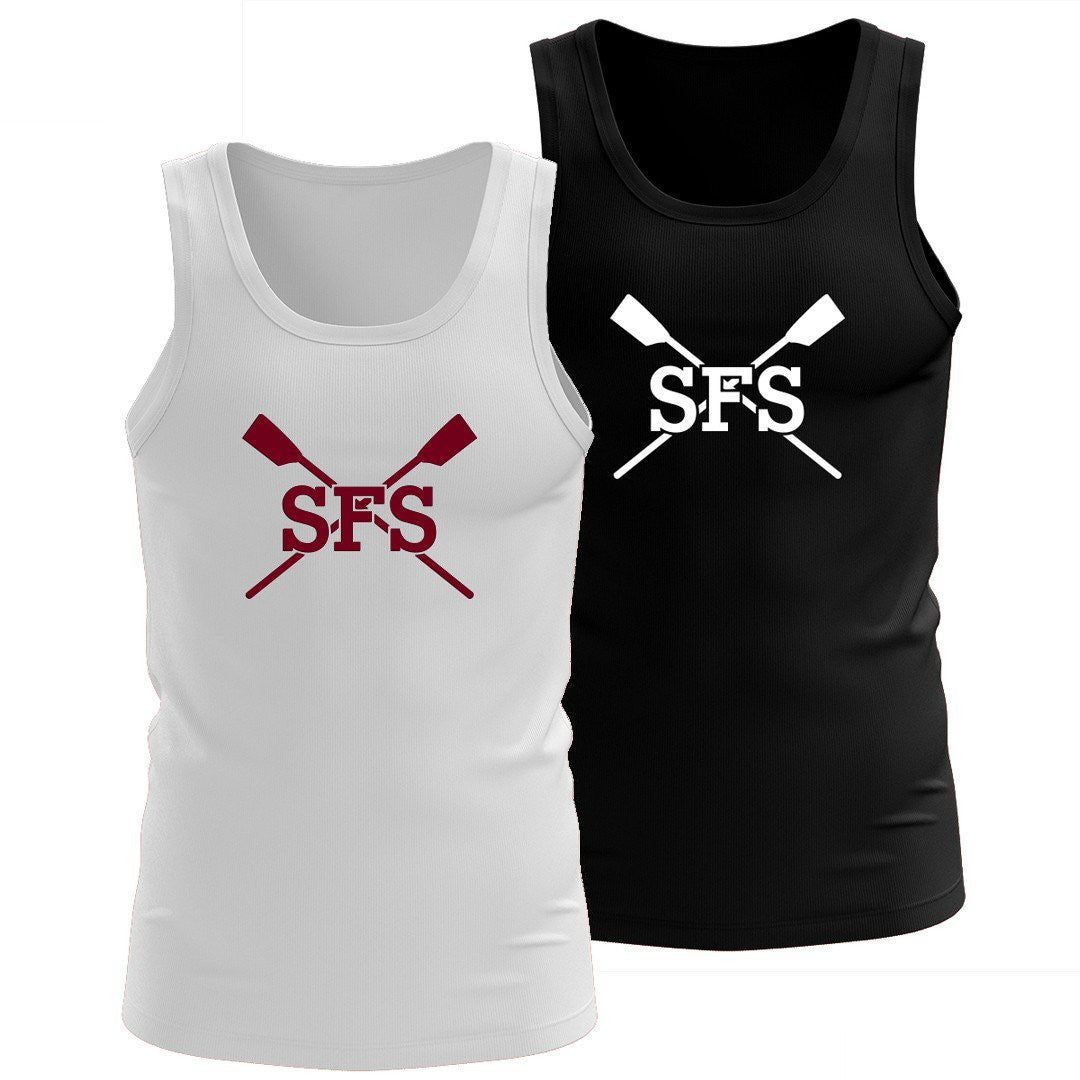 100% Cotton Sidwell Friends Rowing Tank Top