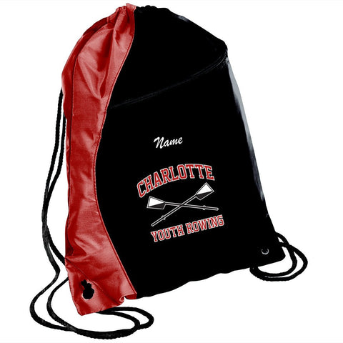 Charlotte Youth Rowing Club Slouch Packs