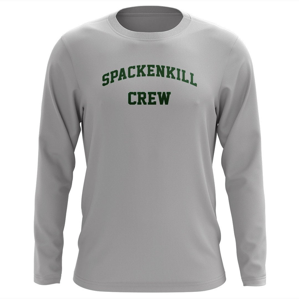 Custom Spackenkill Crew Long Sleeve Cotton T-Shirt