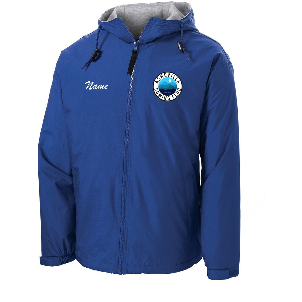 Official Asheville Rowing Club Team Spectator Jacket
