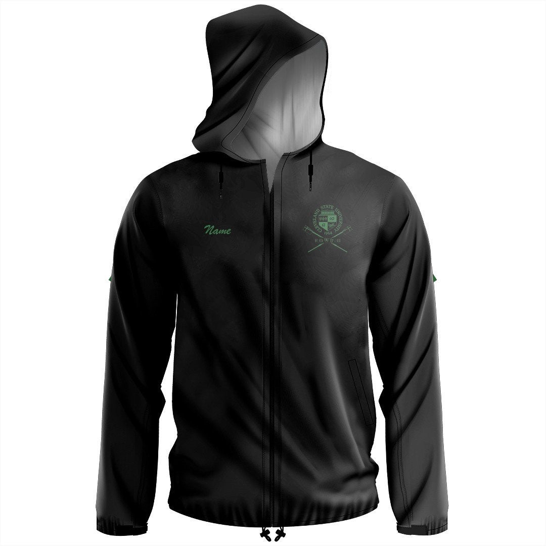Official Cleveland State University Rowing Team Spectator Jacket