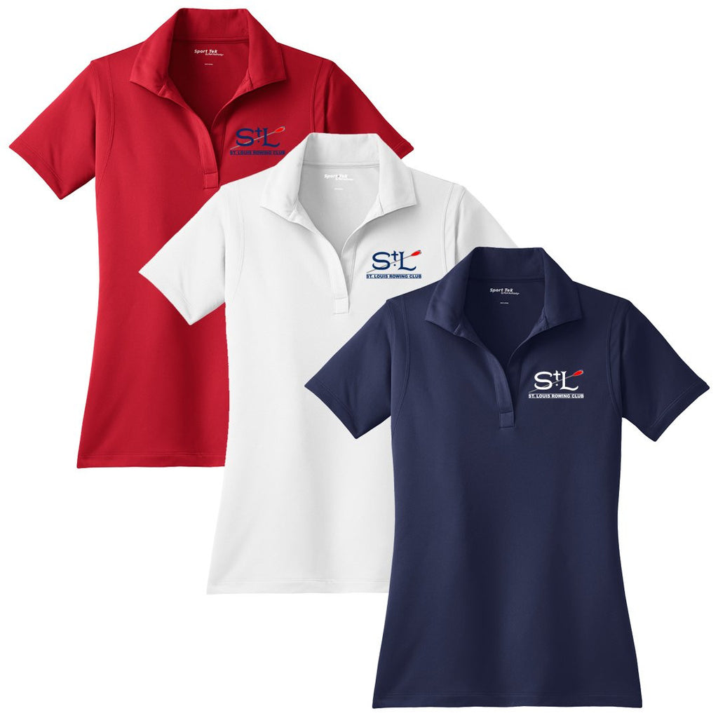 St. Louis Rowing Club Embroidered Performance Ladies Polo