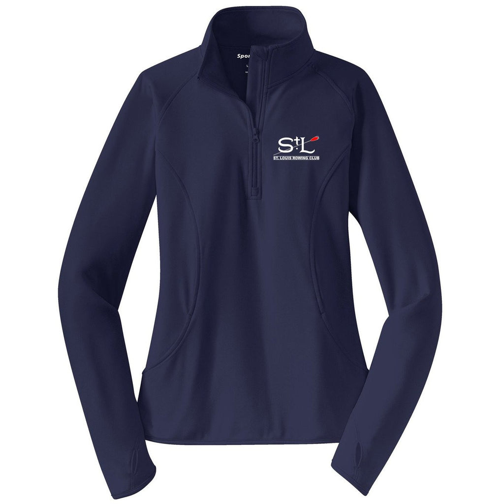 St. Louis Rowing Club Ladies Performance Thumbhole Pullover