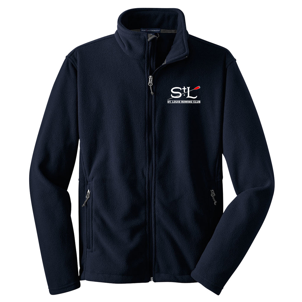 Full Zip St. Louis Rowing Club Fleece Pullover