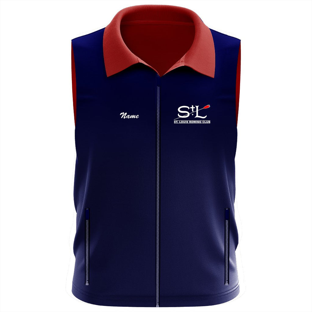 St. Louis Rowing Club Team Nylon/Fleece Vest