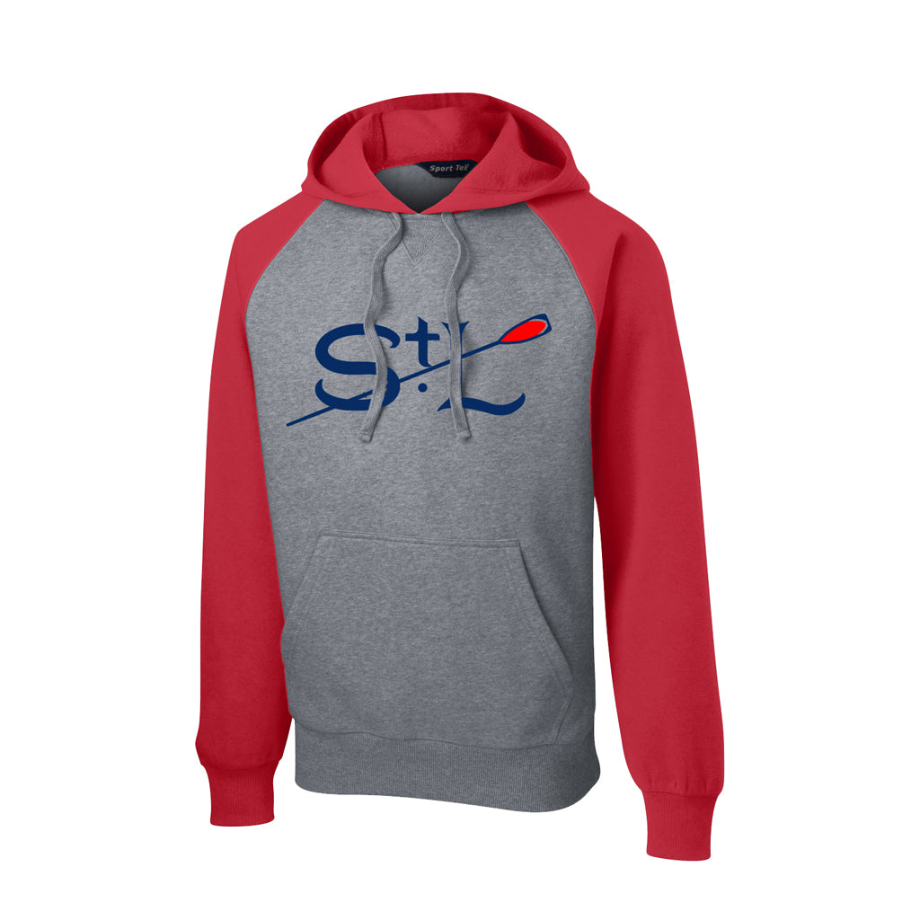 Raglan Hooded St. Louis Rowing Club Pullover Sweatshirt