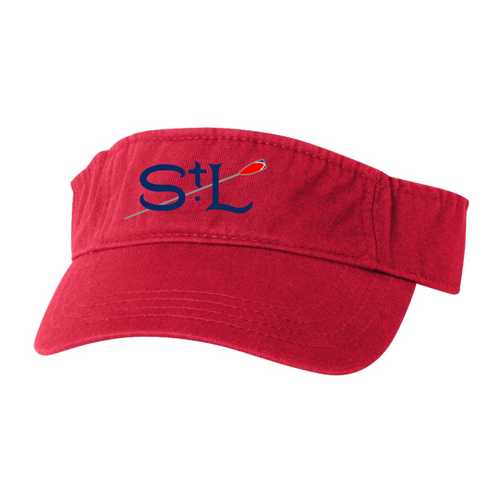 St Louis Rowing Club Cotton Twill Visors