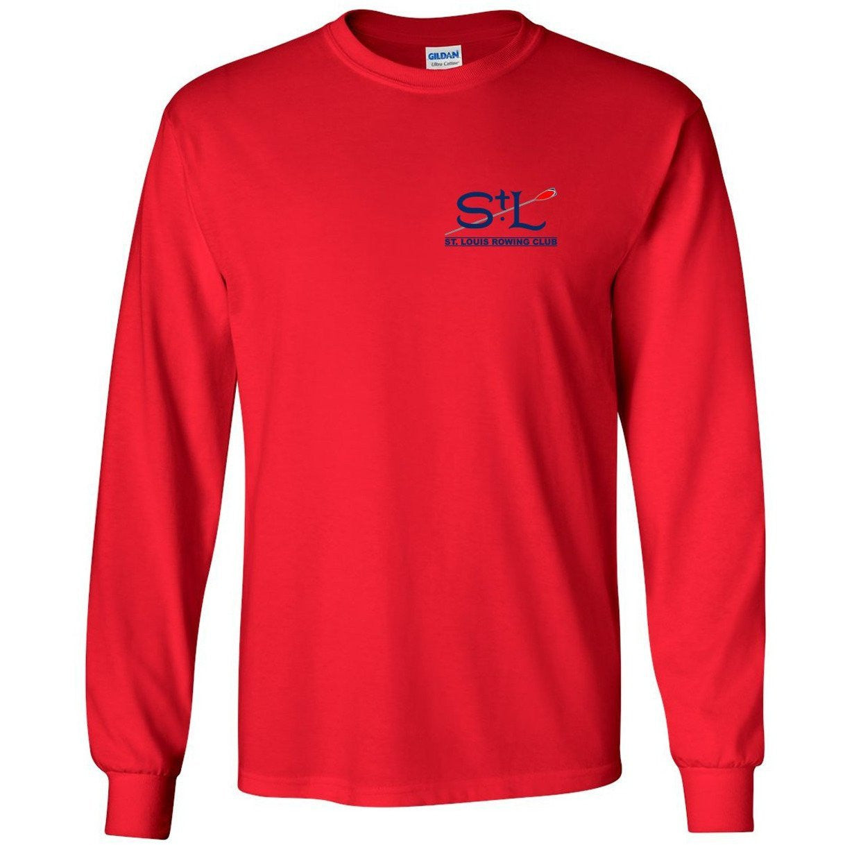 St. Louis Rowing Club Long Sleeve Cotton T-Shirt