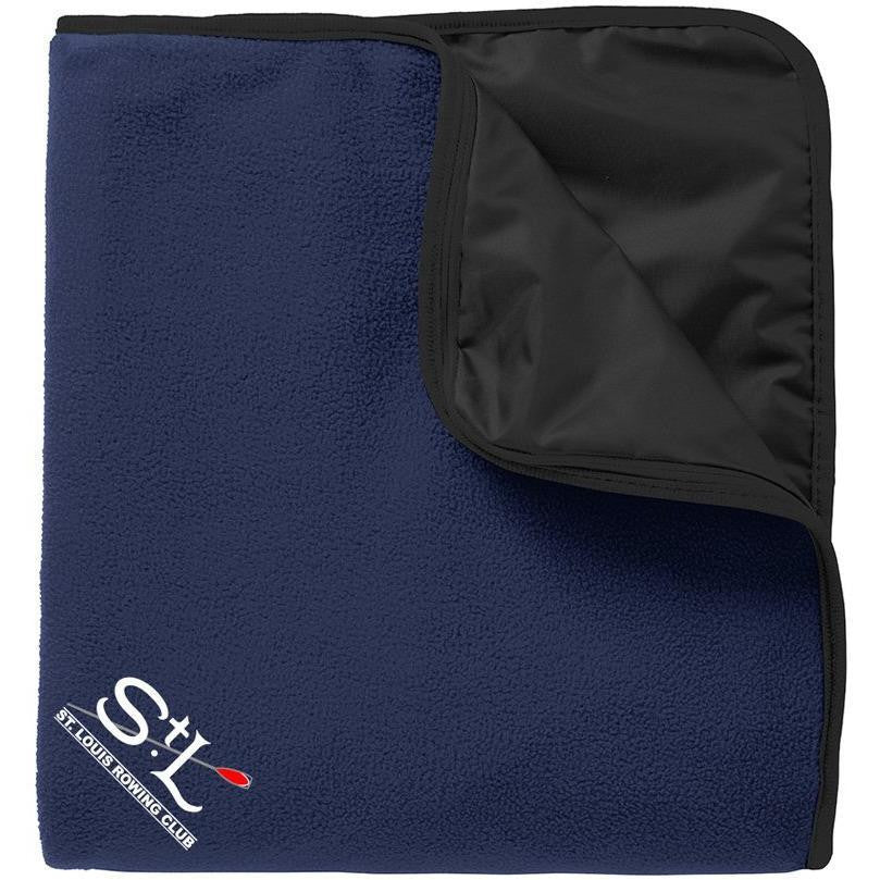 St. Louis Rowing Club Nylon/Fleece Travel Blanket