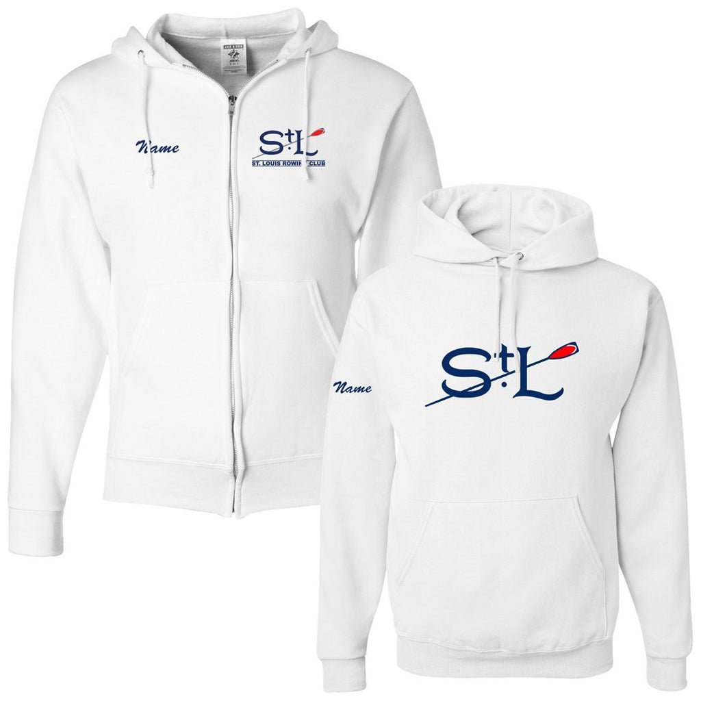 50/50 Hooded St. Louis Rowing Club Sweatshirt