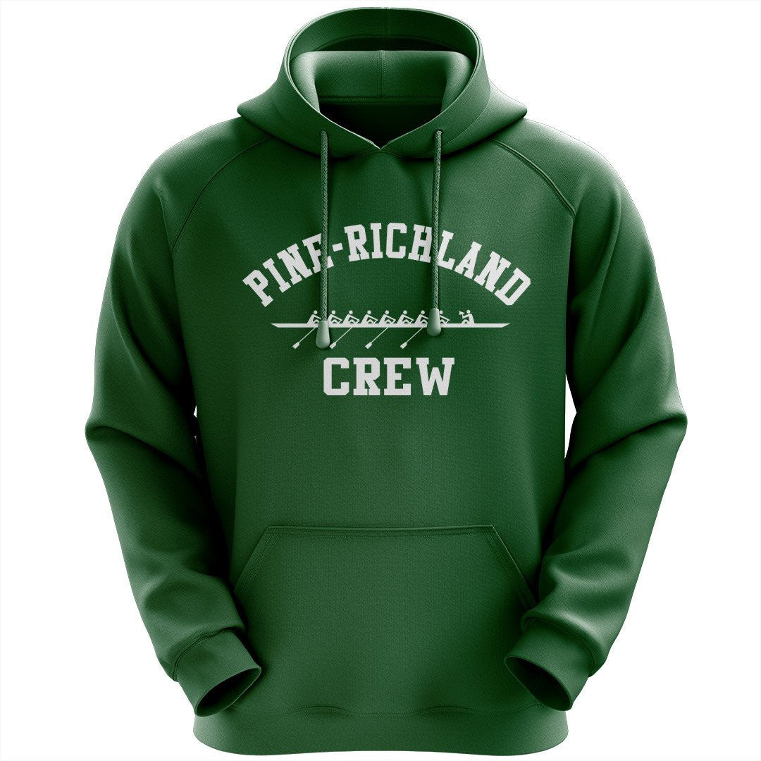 50/50 Hooded Pine Richland Crew Pullover Sweatshirt